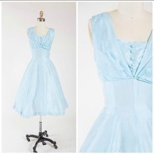 Stunning 1950s Vintage Dress