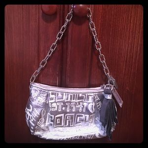 Coach chain purse