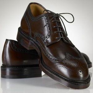 Cordovan Marlow Wing Shoes Lauren Men's Ralph oCWExBQrde