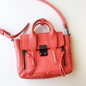 3.1 Phillip Lim Handbags - Coral Phillip Lim Pashli Mini Satchel