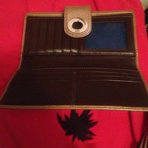 Real Coach leather wallet