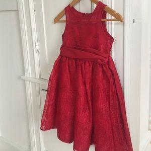 Sweet Heart Rose Other - Girl's Sweet Heart Rose red formal dress