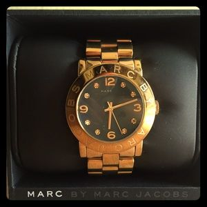 GOLD with blue face Marc by Marc Jacobs watch ⌚️