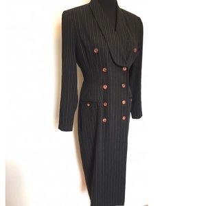Vintage Dresses & Skirts - Vintage 90's Blazer Pencil Dress