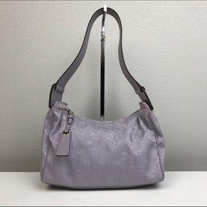 Gucci Handbags - Like New Gucci Purple Shoulder Bag