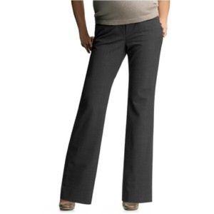 GAP Pants - Gap Maternity Modern Boot Cut Gray Pants