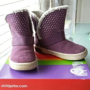 Stride Rite Other - Purple Stride Rite Boots