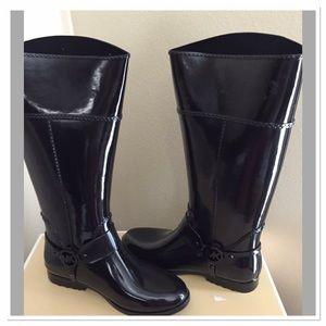 Brand New Michael Kors Rain Boots Size 10