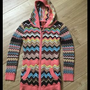 Missoni for Target hooded sweater