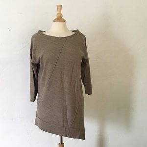 Sweaters - Light Brown Boho Sweater Top