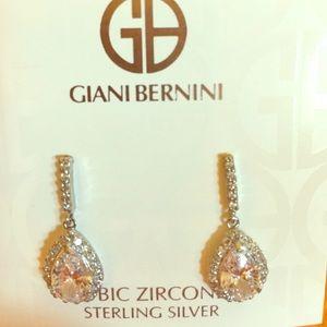 Giani Bernini Jewelry - BRAND NEW cubic zirconia teardrop earrings