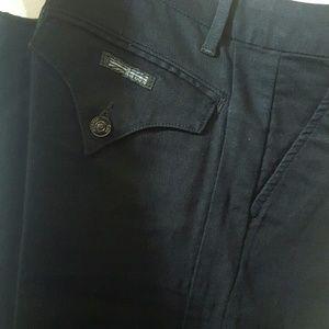 Hudson Brand, Black Wide Leg Trouser