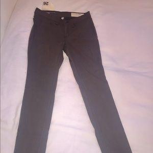 NWT Rag & Bone Legging Olive Greenish Grey size 26