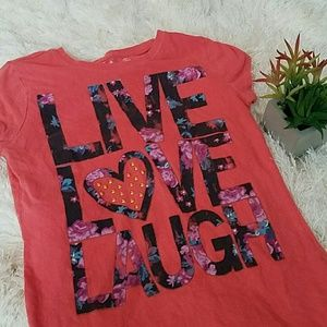 Other - 🌱🌹(Kids) Live.Laugh.Love Tee