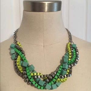 •NWOT• Chunky Neon Statement Necklace