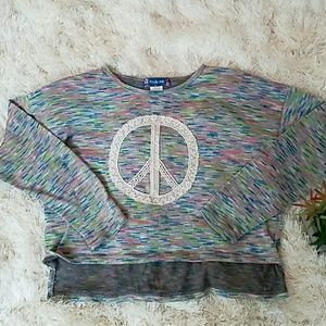 Other - 🌱🌹Peace Long Sleeve Top