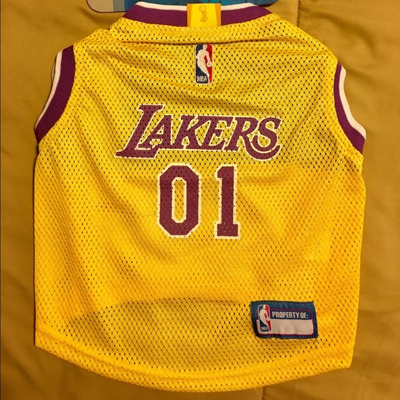 df7ef8db9bc Los Angeles Lakers NBA Dog Mesh Jersey