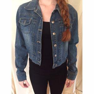 Anchor Blue Jackets & Blazers - Jean jacket