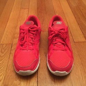 Nike Shoes - ✨HP 01/15✨ Hot Pink Nike Sneakers