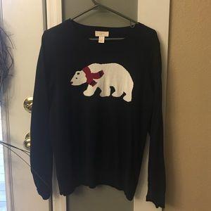 LOFT Sweaters - Final Price! 🎉🎉Loft Navy Bear Sweater