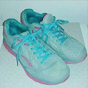 L.A. Gear Shoes - ♡ La gear euc tennis shoes sneakers sz 9 grey teal