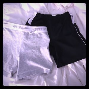 Speedo Pants - Price Drop💰2 pairs of workout shorts sz m and S