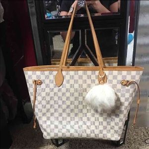Louis Vuitton Handbags - Louis Vuitton neverfull damier azure MM
