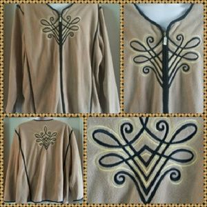 CLEARANCE Bob Mackie Wearable Art  Jacket