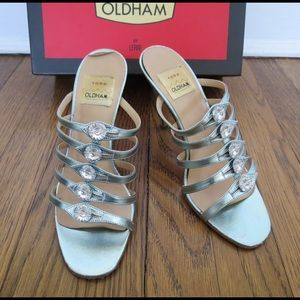 Todd Oldham Shoes - Rare vintage TODD OLDHAM blue leather heels