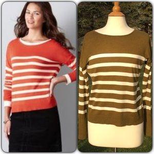 LOFT Sweaters - LOFT Back Button Sweater