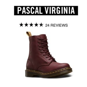 Dr. Martens Shoes - Dr.Martens Cherry Red pascal boot