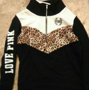 adb1938eee14 PINK Victoria s Secret Sweaters - Victoria secret PINK cheetah outfit