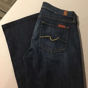 NWOT 7FAM BOOTCUT JEANS