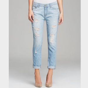 Paige jeans Jimmy Skinny Naomi destructed in blue