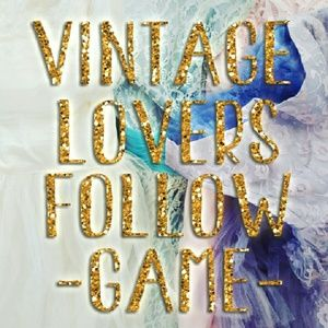 VINTAGE Lovers Follow Game! + Spread Vtg Love!