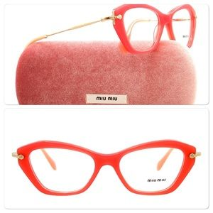 Miu Miu Accessories - Rare color Miu Miu by Prada eyeglasses 🐱👓