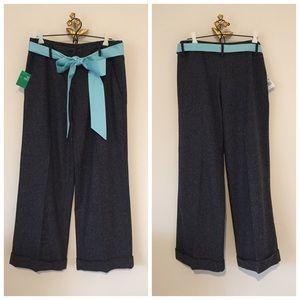 United Colors Of Benetton Pants - 🆕 Benetton Wide Leg Pants