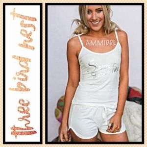 Three Bird Nest Other - 🆕SWEET DREAMER PAJAMA SET in Ivory