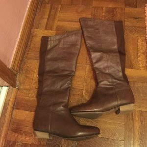 Nine West Shoes - Nine West Leather Knee High Boots