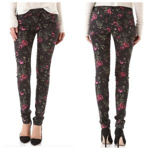 Joe's Jeans Denim - Joe's floral print skinny jeans