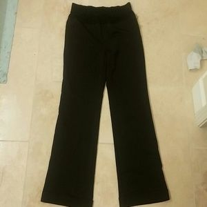Motherhood maternity black dress pants