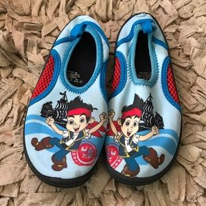 boys Disney character water shoes