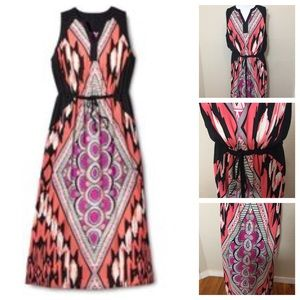 Pure Energy Dresses & Skirts - Pure Energy Plus Size Gorgeous Chevron Maxi Dress