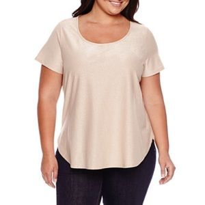 NWOT Sparkly Boutique+ by Ashley Nell Tipton Top