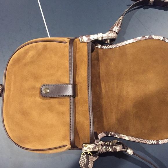 fd71092f7f0 Large MK saddle bag. Dk caramel NWT. NWT. KORS Michael Kors