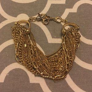 henri bendel Jewelry - Henri Bendel Gold Bracelet. So classy. EUC