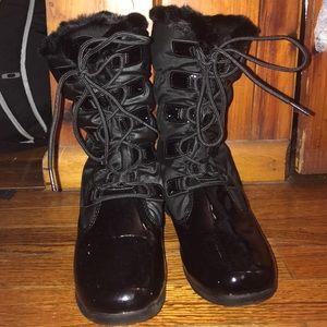 Black Sporto winter boots