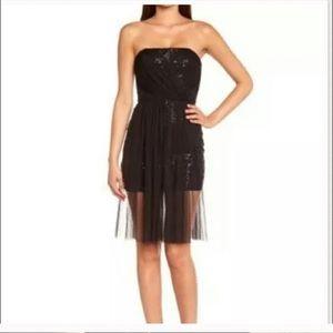 🔥NWT Bcbg maxazria Vienna sequin mesh dress