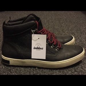 inkkas Other - inkkas Black Wool Leather Camping Boot Size 11