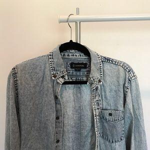 Zanerobe Other - Zanerobe acid wash button-down shirt